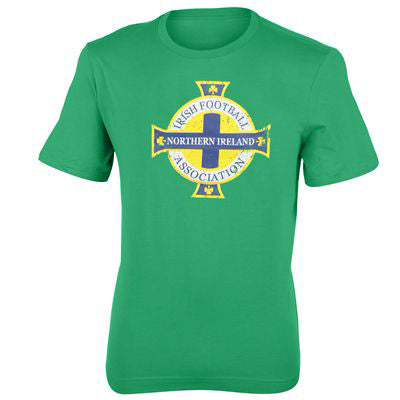 Northern Ireland FA T Shirt Jnr XLB