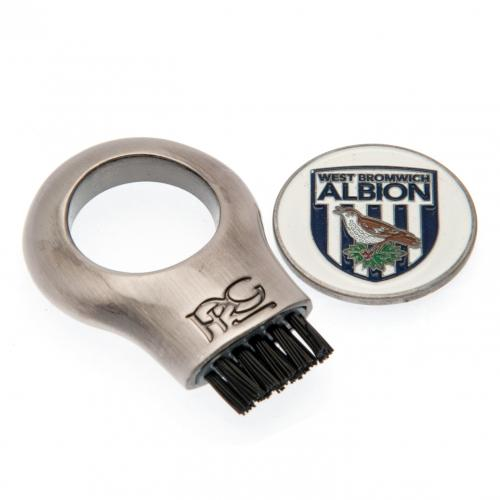 West Bromwich Albion FC Gruve Brush & Marker