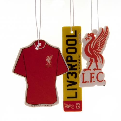 Liverpool FC 3pk Air Freshener