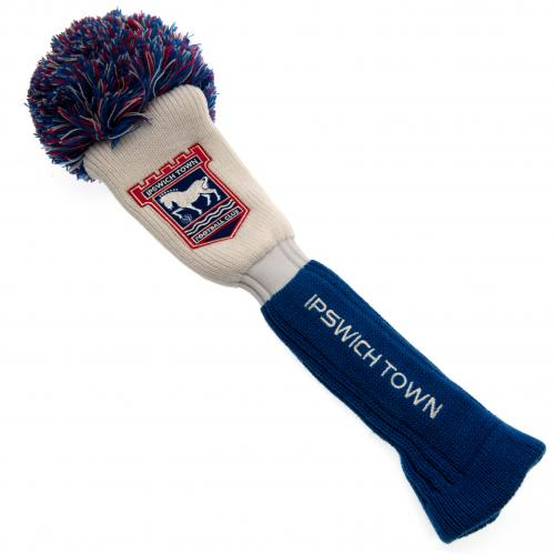 Ipswich Town FC Headcover Pompom (Driver)