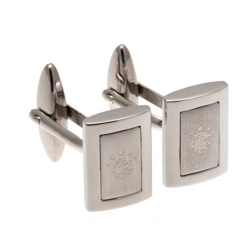 Rangers FC Stainless Steel Framed Cufflinks