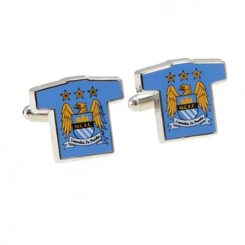 Manchester City FC Cufflinks Shirt