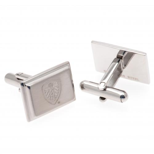 Leeds United F.C. Stainless Steel Cufflinks