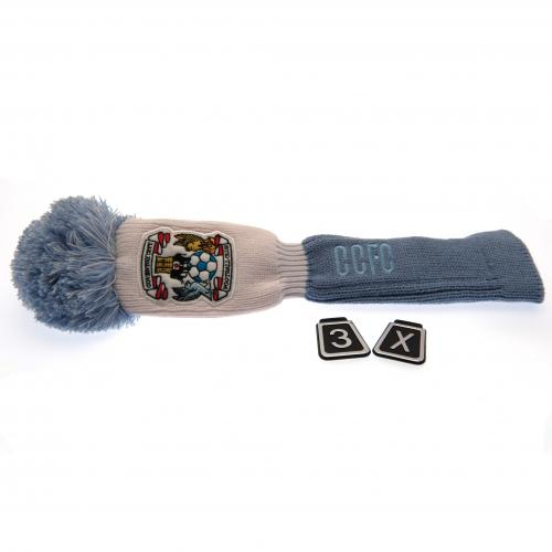 Coventry City FC Headcover Pompom (Fairway)
