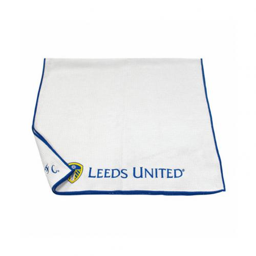 Leeds United FC Aqualock Caddy Towel