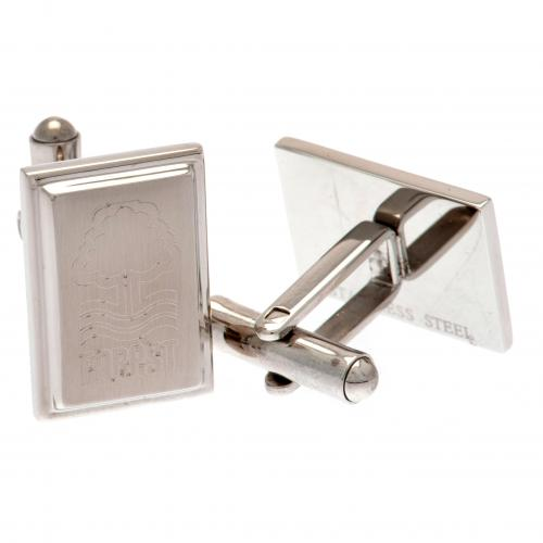 Nottingham Forest FC Stainless Steel Cufflinks