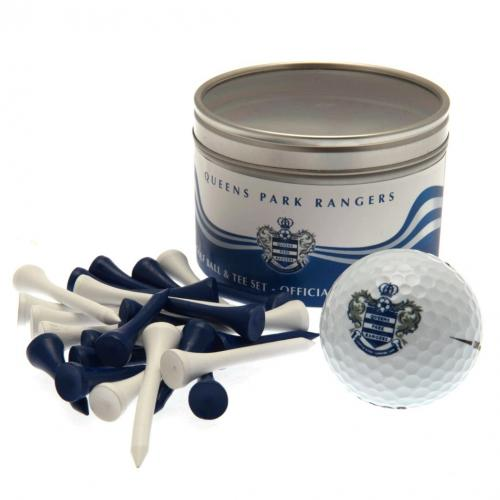 Queens Park Rangers FC Ball & Tee Set