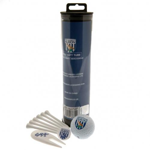 West Bromwich Albion F.C. Golf Gift Tube