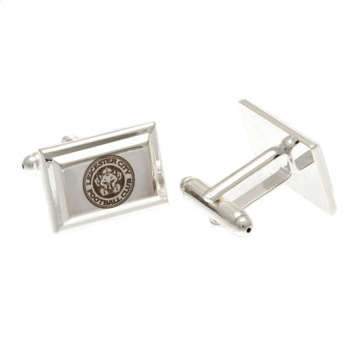 Leicester City FC Silver Plated Cufflinks