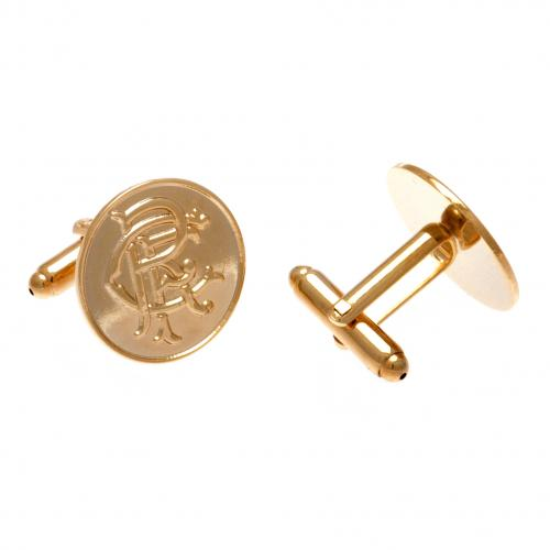 Rangers FC Gold Plated Cufflinks