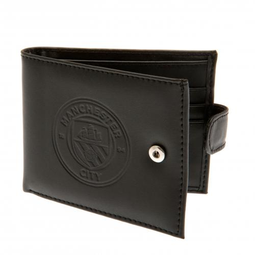 Manchester City FC Embossed Leather Wallet 805
