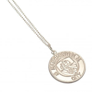 Manchester City F.C. Sterling Silver Pendant & Chain