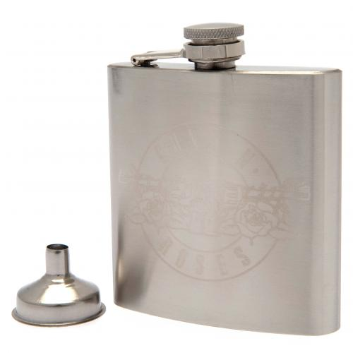 Guns N Roses Stainless Steel Hip Flask