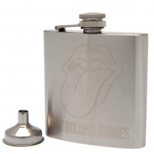 The Rolling Stones Stainless Steel Hip Flask