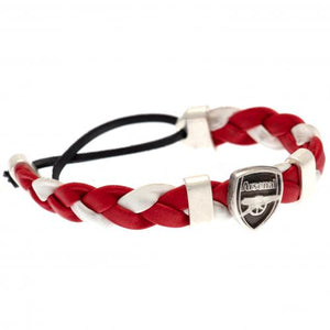 Arsenal FC PU Slider Bracelet