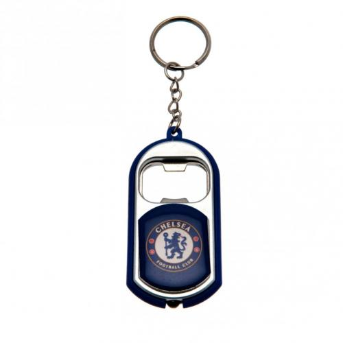 Chelsea FC Key Ring Torch Bottle Opener