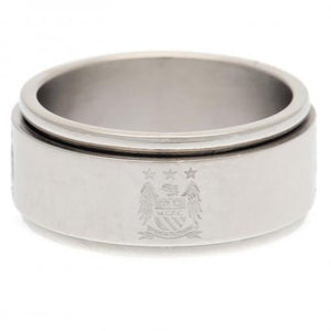 Manchester City FC Spinner Ring Medium EC