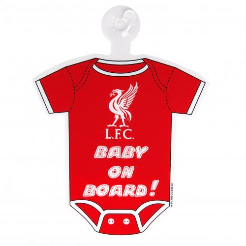 Liverpool F.C. Baby On Board Sign
