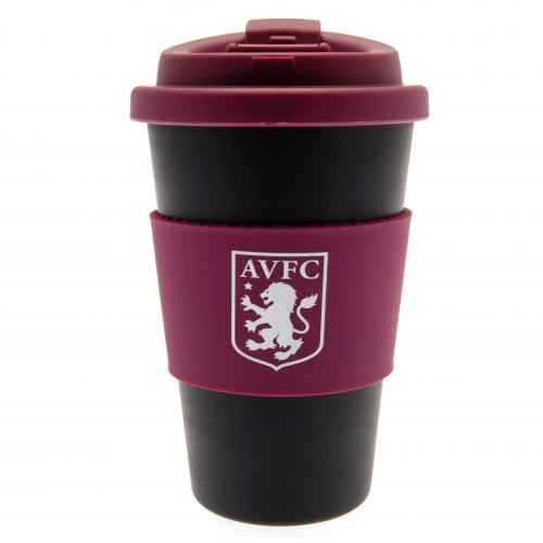 Aston Villa F.C. Silicone Grip Travel Mug