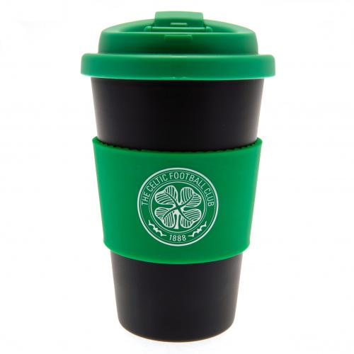Celtic F.C. Silicone Grip Travel Mug