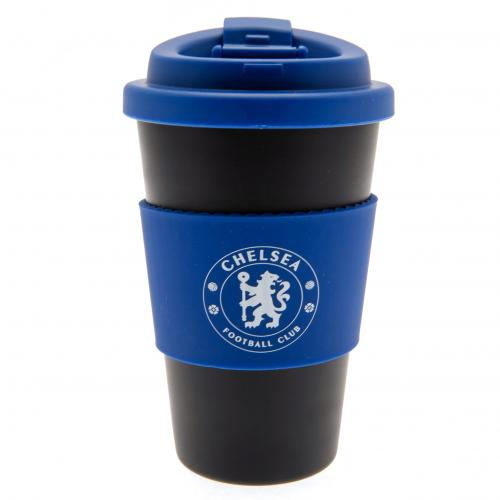Chelsea FC Silicone Grip Travel Mug