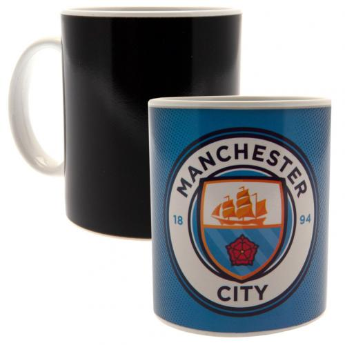 Manchester City FC Heat Changing Mug