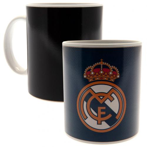 Real Madrid FC Heat Changing Mug