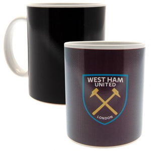 West Ham United FC Heat Changing Mug