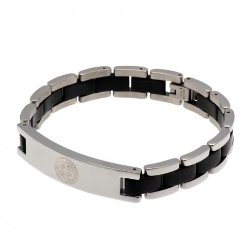 Celtic FC Black Inlay Bracelet