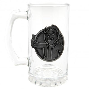 Fallout Glass Tankard Vault Boy