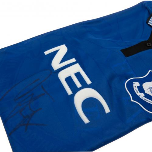 Everton FC Ferguson Signed Shirt