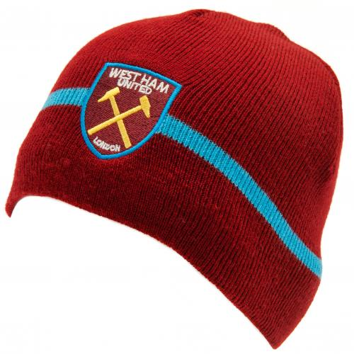 West Ham United FC Knitted Hat