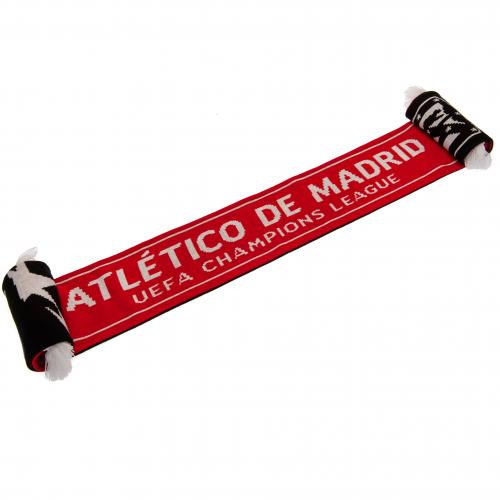 Atletico Madrid FC Champions League Scarf
