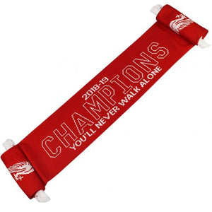 Liverpool FC Champions Of Europe Scarf
