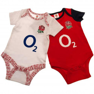 England RFU 2 Pack Bodysuit 12/18 mths PS