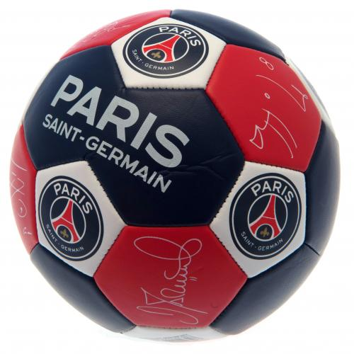 Paris Saint Germain FC Nuskin Football Size 3