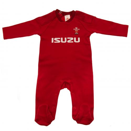 Wales RU Sleepsuit 3/6 mths PS