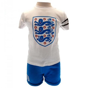 England F.A. T Shirt & Short Set 6/9 mths