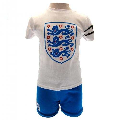England FA T Shirt & Short Set 2/3 yrs