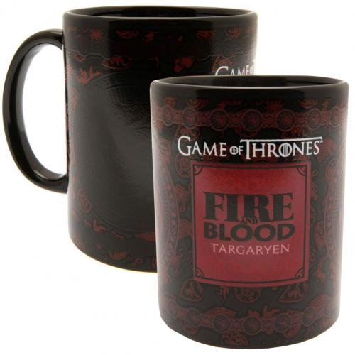 Game Of Thrones Heat Changing Mug Targaryen