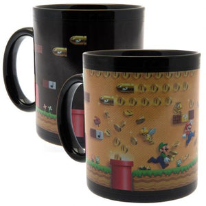 Super Mario Heat Changing Mug