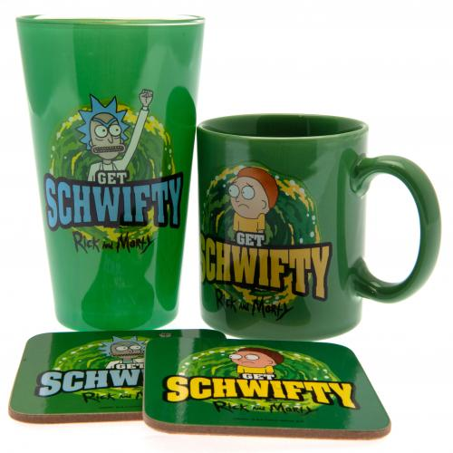 Rick And Morty Gift Set Schwifty