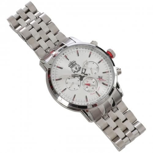 Liverpool FC Mens Stainless Steel Watch