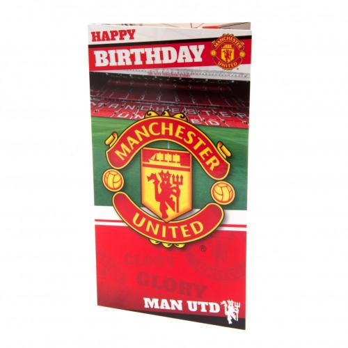 Manchester United FC Birthday Card