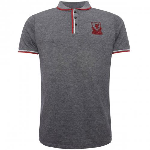 Liverpool FC Birdseye Polo Shirt Mens S