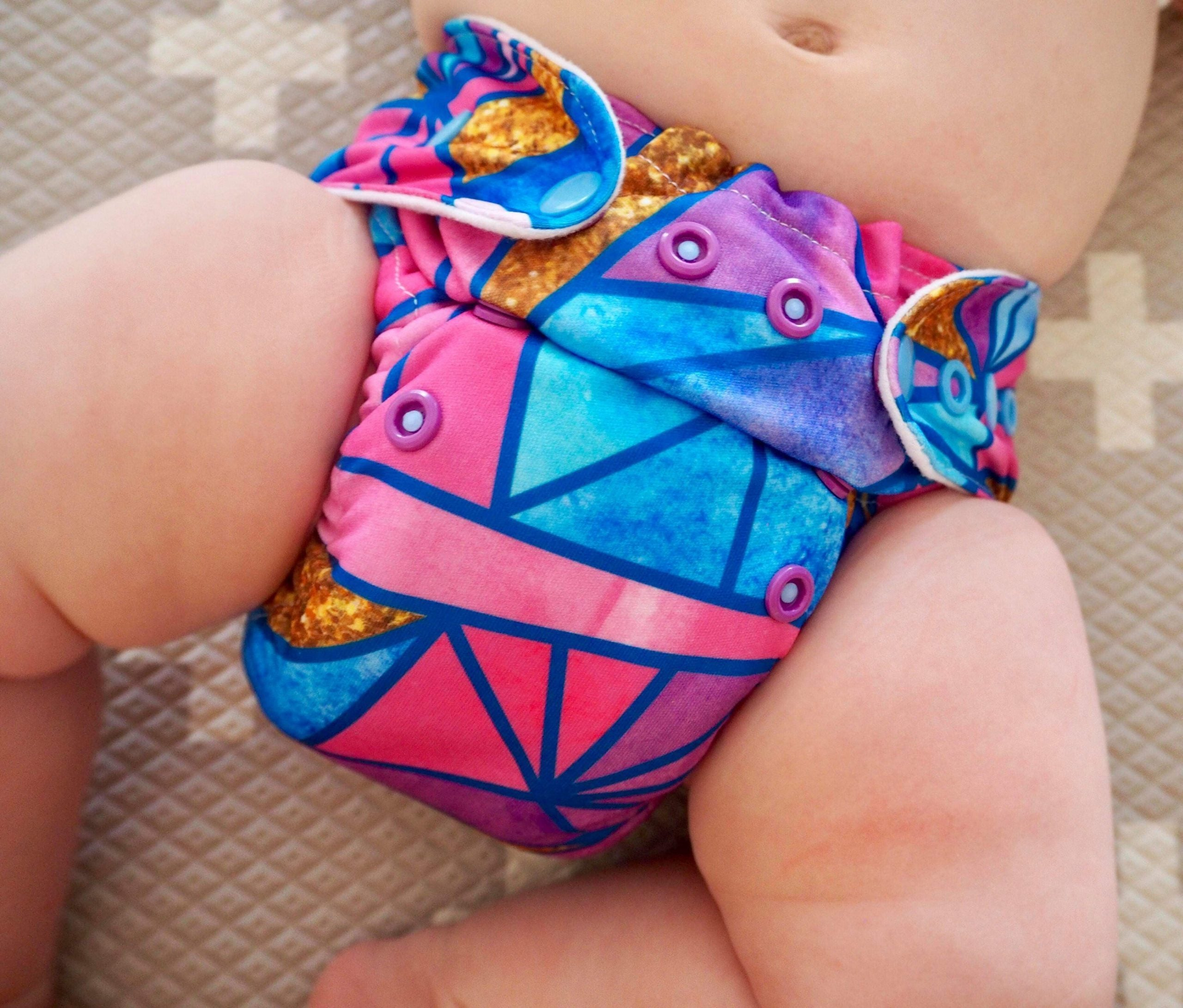3 Pack Mystery Nappy Cuts PUL - Cheeky Little Bums
