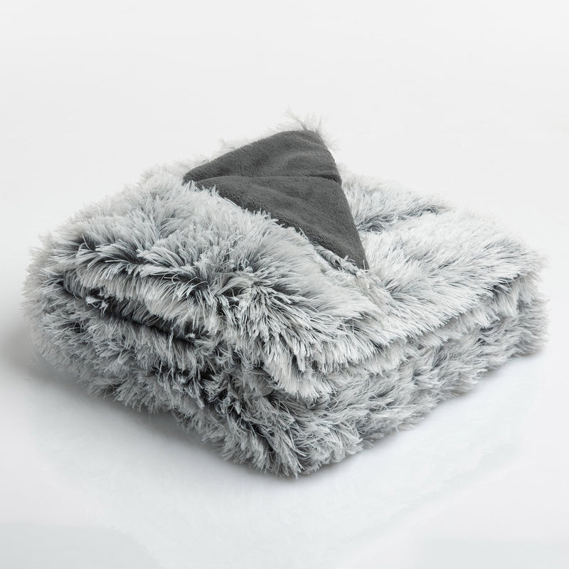 Coperta Fluffy 250X200 Highlands Grigio - Amo La Casa Shop