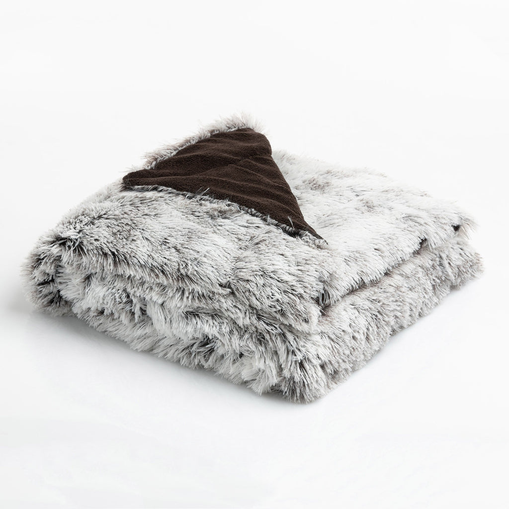 Coperta Fluffy 120X160 Highlands Marrone