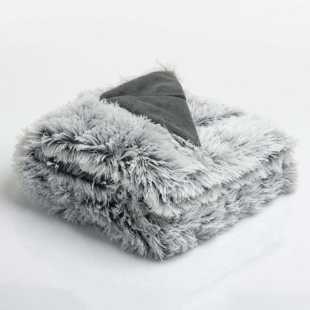 Coperta Fluffy 150X200Cm Highlands Grigio - Amo La Casa Shop
