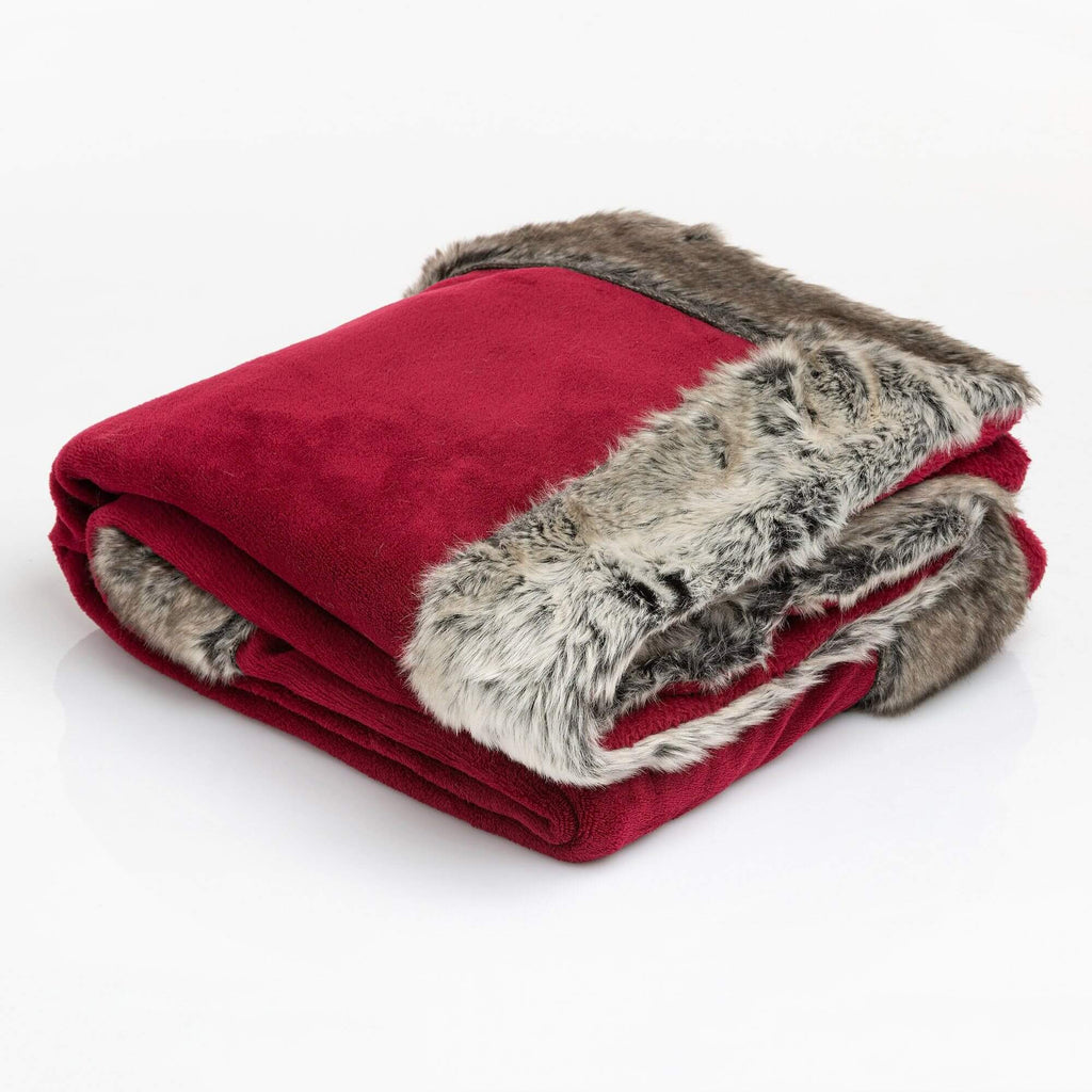 Coperta Highlands 150X200 Highlands Rosso